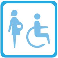 Si viajás con un menor de 4 años o tenés Pase, los asientos delanteros del colectivo son para ustedes.
